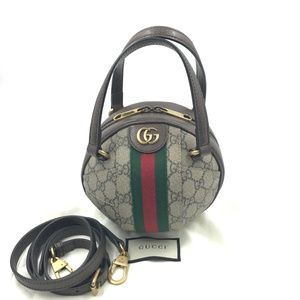 Authentic GUCCI GG Ophidia Mini Shoulder Bag